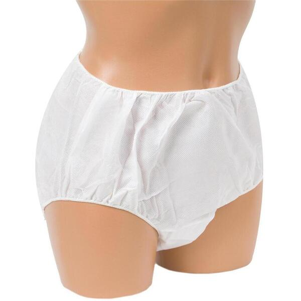 Canyon Rose Disposable Ladies Brief Small-Medium White 25 Pack