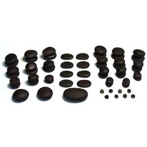 Theratools Basalt Premium Therapy Stone Set 59 Pieces