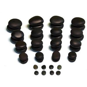 Theratools Basalt Basic Therapy Stone Set 40 Pieces