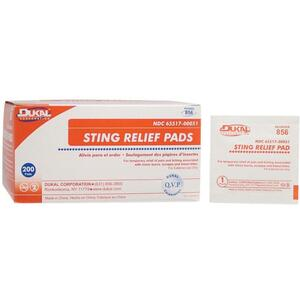 Sting Relief Pad - Medium - 2 Ply 200 Pack