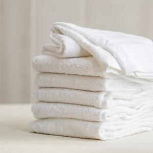"Colorsafe Towel - 100% Cotton - 16"" x 29"" - WHITE 6 Pack"
