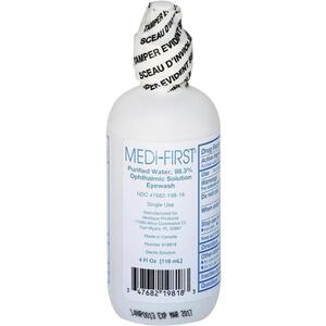 Medi-First Sterile Eye Wash Solution 4 oz.