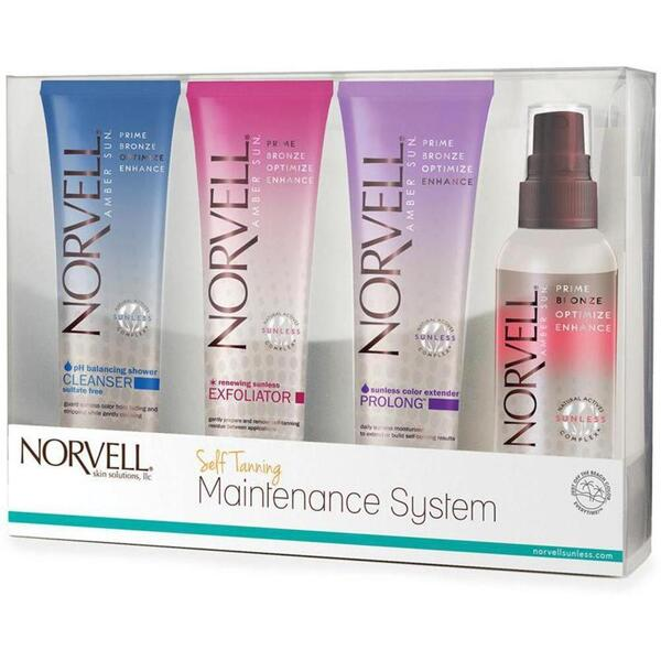 Norvell Mini Sunless Maintenance Kit 5 Piece