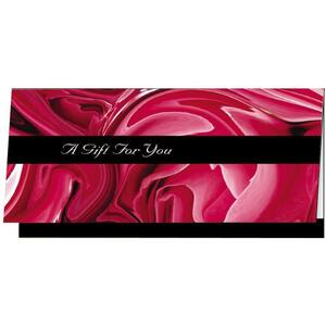 Gift Certificate - Romance Design - 25 Pieces