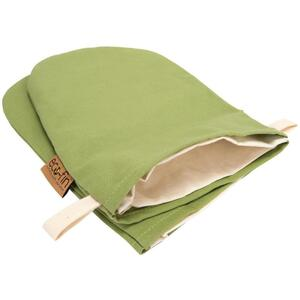 Eco-Fin Herbal Mitt Covers - Kiwi Green Set of 2