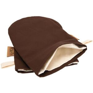 Eco-Fin Herbal Mitt Covers - Brown Set of 2