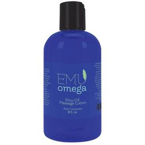 Emu Omega Emu Oil Massage Lotion 8 oz.