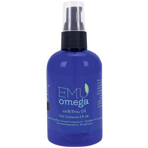 Emu Omega 100% Emu Oil 4 oz.