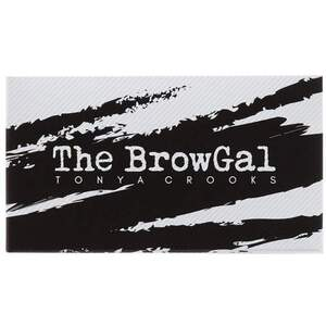 The BrowGal Convertible Brow Powder Pomade Duo - Light Hair