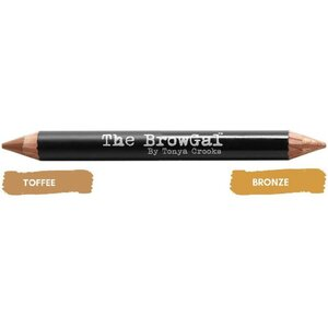 The BrowGal Highlighter & Concealer Duo Pencil - BronzeToffee