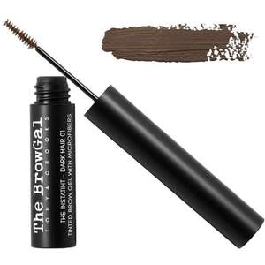 The BrowGal Instatint Tinted Eyebrow Gel with Micro Fibers - Brown Hair