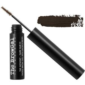 The BrowGal Instatint Tinted Eyebrow Gel with Micro Fibers - Dark Hair