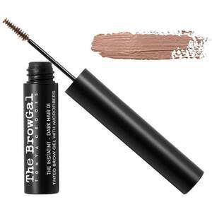 The BrowGal Instatint Tinted Eyebrow Gel with Micro Fibers - Light Hair