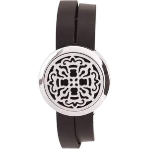 Serina & Company - Ancient Cross Aromatherapy Locket Bracelet | Aromatherapy Jewelry for Retail!