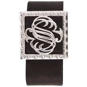 Serina & Company - Signature Aromatherapy Locket Bracelet - Black | Aromatherapy Jewelry for Retail!