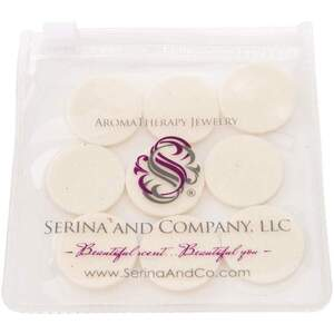 Serina & Company - Round Replacement Pads - White