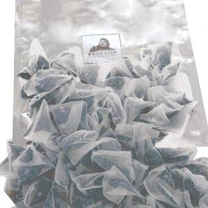 White Lion Tea - Organic Jade Osmanthus Oolong Tea 200 Count Resealable Bag of Pyramid Sachets