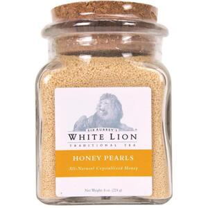 White Lion - Honey Pearls 8 oz. Jar