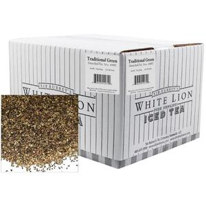 White Lion Tea - Traditional Green Iced Tea 1 oz. Sachets - 72 Count