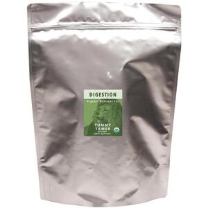 White Lion Tea - Digestion (Tummy Tamer) Tea 200 Count Resealable Bag of Pyramid Sachets