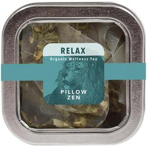 White Lion Tea - Relax (Pillow Zen) Tea 5 Count Tin of Pyramid Sachets
