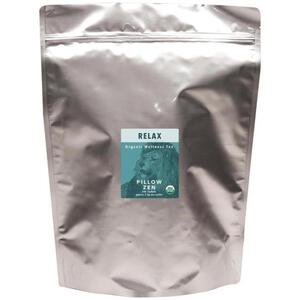 White Lion Tea - Relax (Pillow Zen) Tea 200 Count Resealable Bag of Pyramid Sachets