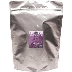 White Lion Tea - Slenderize (Lean Genes) Tea 200 Count Resealable Bag of Pyramid Sachets