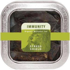 White Lion Tea - Immunity (Stress Shield) Tea 5 Count Tin of Pyramid Sachets