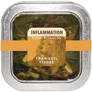 White Lion Tea - Inflammation (Tranquil Tissue) Tea 5 Count Tin of Pyramid Sachets