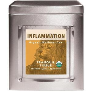 White Lion Tea - Inflammation (Tranquil Tissue) Tea 18 Count Tin of Pyramid Sachets