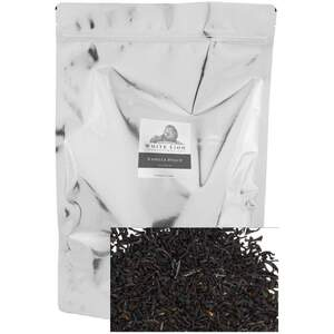 White Lion Tea - Vanilla Dolce Loose Black Tea 1 Lb. Loose Tea in Resealable Bag
