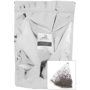 White Lion Tea - Organic Classic English Blend Black Tea 200 Count Resealable Bag of Pyramid Sachets