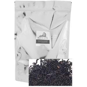 White Lion Tea - Organic Classic English Blend Black Tea - Loose 1 Lb. Loose Tea in Resealable Bag