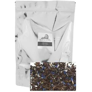 White Lion Tea - Organic Earl Grey Loose Black Tea 1 Lb. Loose Tea in Resealable Bag