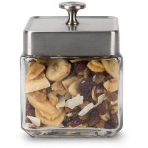 White Lion Tea - Glass Display Canister Small