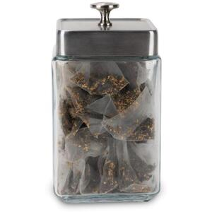 White Lion Tea - Glass Display Canister Large