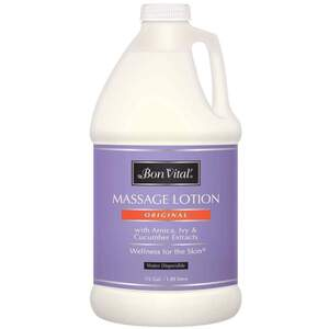 Bon Vital - Original Massage Lotion with Arnica Ivy and Cucumber Extracts 64 oz. - 12 Gallon - 1.89 Liters