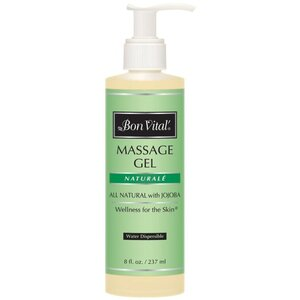 Bon Vital - Naturale Massage Gel - All Natural with Jojoba 8 oz. - 237 mL.