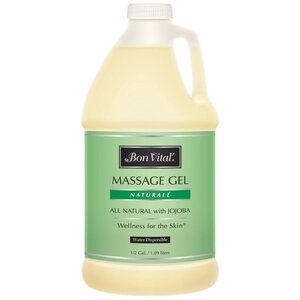 Bon Vital - Naturale Massage Gel - All Natural with Jojoba 64 oz. - 12 Gallon - 1.89 Liters