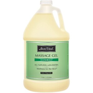 Bon Vital - Naturale Massage Gel - All Natural with Jojoba 128 oz. - 1 Gallon - 3.78 Liters