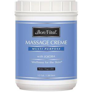Bon Vital - Multi Purpose Massage Creme with Jojoba 64 oz. - 12 Gallon - 1.89 Liters