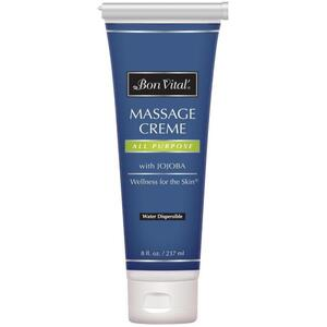 Bon Vital - All Purpose Massage Creme with Jojoba 8 oz. - 237 mL.