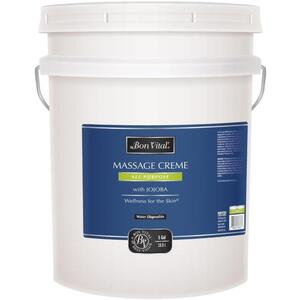 Bon Vital - All Purpose Massage Creme with Jojoba 5 Gallons - 18.9 Liters