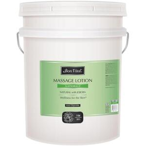 Bon Vital - Naturale Massage Lotion - All Natural with Jojoba 5 Gallons - 18.9 Liters