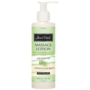 Bon Vital - Therapeutic Touch Massage Lotion with Olive Oil 8 oz. - 237 mL.