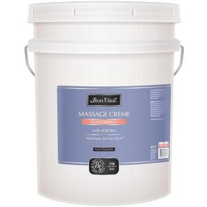 Bon Vital - Deep Tissue Massage Creme with Jojoba 5 Gallons - 18.9 Liters