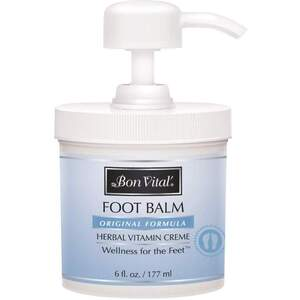 Bon Vital - Foot Balm - Original Formula 6 oz. - 177 mL. Pump Jar