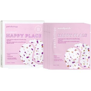 Patchology - Moodpatch Happy Place Inspiring Tea-Infused Aromatherapy Eye Gels 5 Pairs