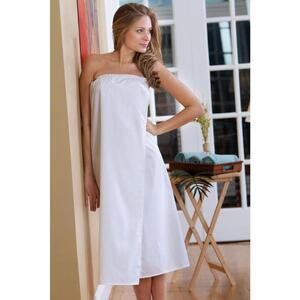 Canyon Rose Body Wrap - 80% Poly20% Cotton - White Regular