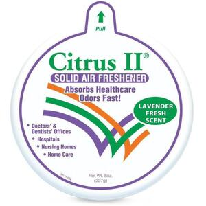 Citrus II Solid Air Freshener - Lavender 8 oz.
